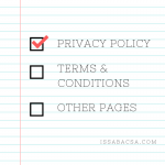Privacy Policy checked