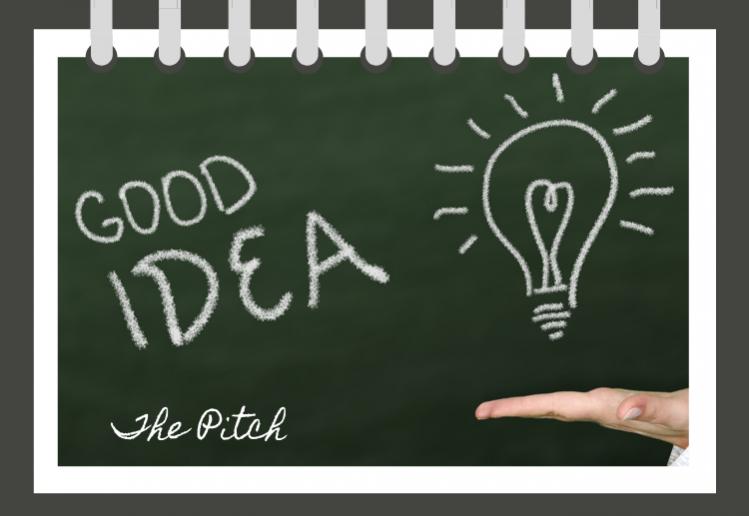 pitch a good idea
