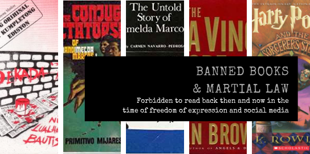 Banned Books and Martial Law