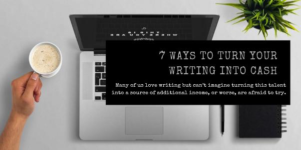 earn cash by writing