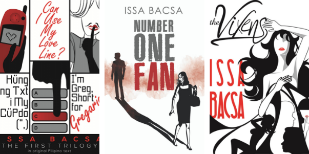 novels by Filipino freelance writer and author Issa Bacsa