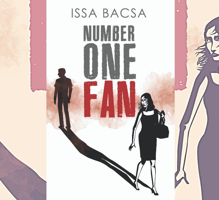 Number One Fan book cover portfolio