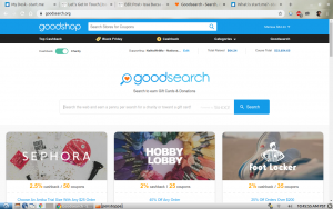 Goodsearch app
