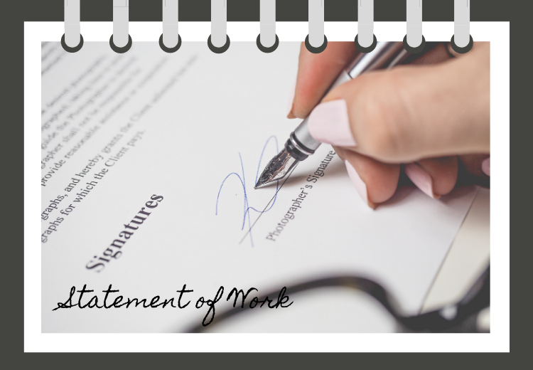 Items to Put In Your Statement of Work