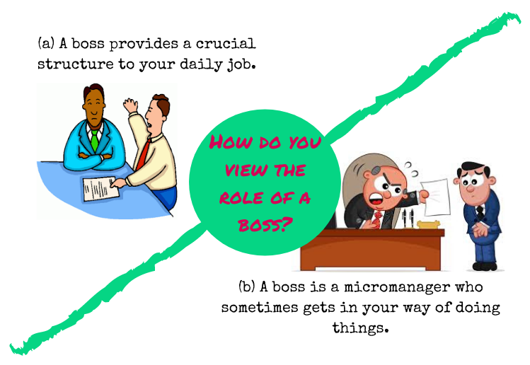 the role of a boss